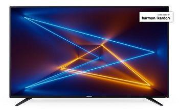"65"" LED TV SHARP LC-65UI7252E, Black, 3840x2160 (4K), SmartTV (Aquas NET+), Wifi+Lan, Active Motion 400, HDR, ACE PRO ULTRA Engine, Harman Kardon, RMS 2x10W, HDMIx3, USBx3, SD Card slot, DVB-T2/C/S2/CI+, Red Dot Design, Vesa 200x200"