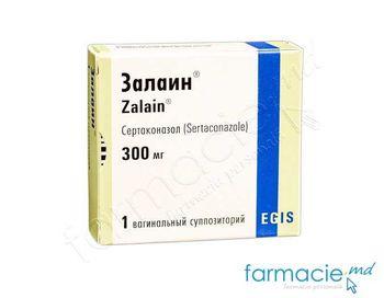 купить Залаин свечи вагин. 300 мг № 1 в Кишинёве