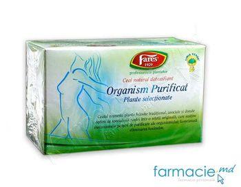 купить Чай Фарес Очищенный организм (детоксикация) 1,5 г N20 в Кишинёве
