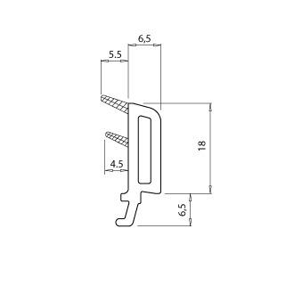 """купить """"Montblanc"""" Штапик 6.5мм (на пакет 32мм) в Кишинёве"""