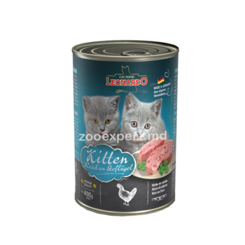 купить Leonardo Kitten Rich In Poultry (с птицей для котят) 400 gr в Кишинёве