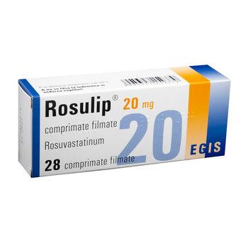 cumpără Rosulip 20mg comp. film. N7X4 în Chișinău