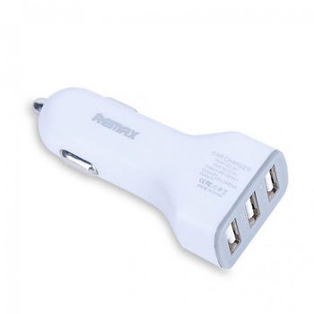 Автомобильное зарядное устройство REMAX 3-USB 3.6 A (Белая )