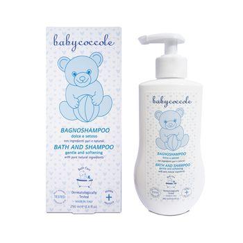 купить Sampon-spuma de baie pt copii BabyCoccole 250ml (0luni+) (4141) в Кишинёве