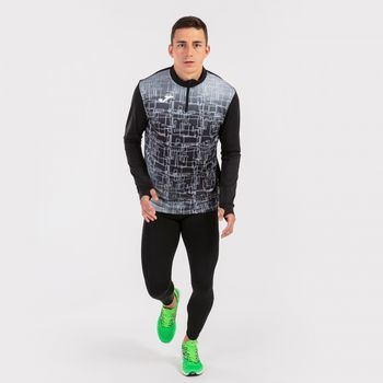 Толстовка JOMA - ELITE VIII SWEATSHIRT BLACK