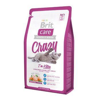 купить Brit Care Cat - Crazy - I'm Kitten (корм для котят ,а также беременных и кормящих кошек ) в Кишинёве