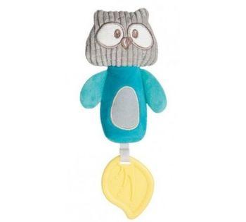 Мягкая игрушка-пищалка Canpol Owl