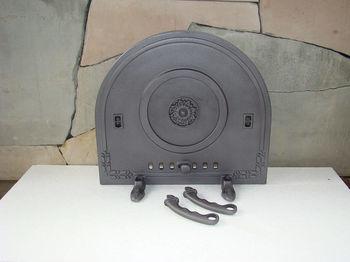 Дверца чугунная глухая PIZZA 5