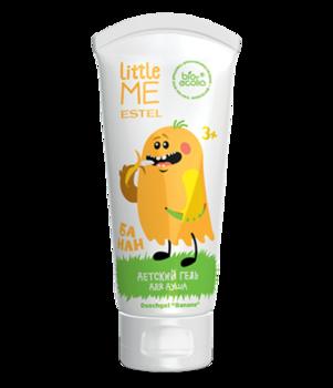 Gel de duș, ESTEL Little Me, 3+, 200 ml., Banană