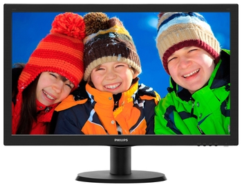 "купить Monitor 23.6"" Philips 243V5LHAB Black в Кишинёве"