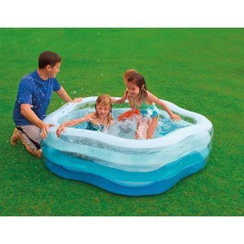 купить Intex Детский надувной бассейн 185 x180 x 53 см, 466 Л в Кишинёве