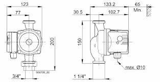 купить Насос ЦИРКУЛЯЦИОННЫЙ  для ГВС Biral  WX-13 150 мм, 230В в Кишинёве