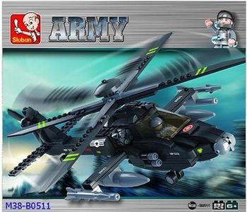 Sluban Конструктор вертолёт (283 детали)