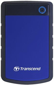 "купить 4.0TB (USB3.1) 2.5"" Transcend ""StoreJet 25H3B"", Navy Blue, Rubber Anti-Shock, One Touch Backup в Кишинёве"