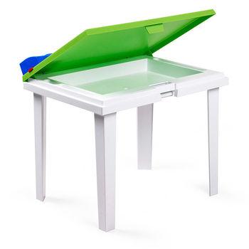 Стол детский Nardi ALADINO LIME 40046.12.000 (Стол детский для сада лежака террасы балкон)