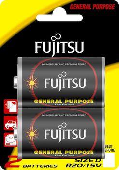 Fujitsu baterii  Zinc Carbon R20 FSB2 (blister)