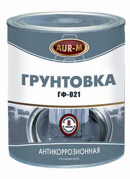Aur-M Грунтовка антикоррозионная ГФ-021 Серая 23кг