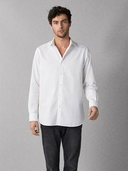 Рубашка Massimo Dutti Белый 0173/060/250