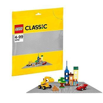 LEGO Gray Baseplate, 1 дет. арт.10701