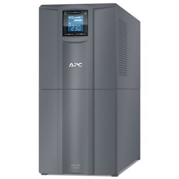 APC Smart-UPS C SMC3000I-RS, 3000VA/2100W, AVR, 9 x IEC Sockets (all 9 Battery Backup + Surge Protected),  LCD Display, PowerChute USB /Serial Port