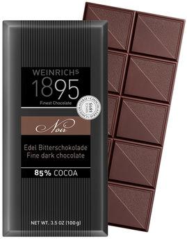 Горький шоколад Weinrichs 1895 Fine Dark Chocolate Noir 85%