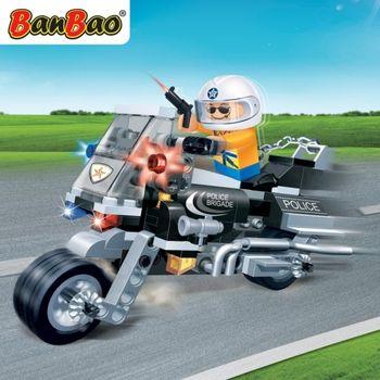 BanBao 8351 Police Motor 2 - 140 blocks
