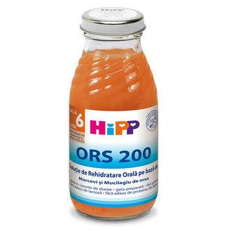 cumpără Hipp suc ORS 200 morcovi și mucilagiu de orez de la 4 luni, 200 ml în Chișinău