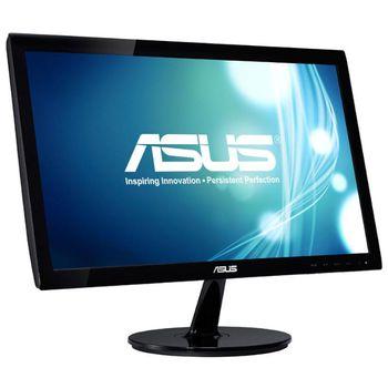 """cumpără 19.5"""" Asus """"VX207NE"""", Black (1366x768, 5ms, 200cd, LED100M:1, D-Sub+DVI, Black) în Chișinău"""