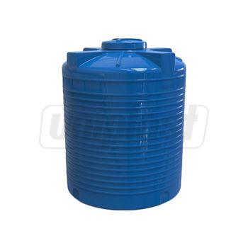 """купить Емкость 3000 л  вертикальная, овальная  (синяя) + штуцер 2""""  151 x 189 (2,85m3) в Кишинёве"""