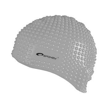 купить Шапочка для плавания Spokey Belbin для длинных волос, grey, 89914 в Кишинёве