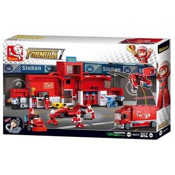 купить КОНСТРУКТОР F1 Racing Car Station в Кишинёве