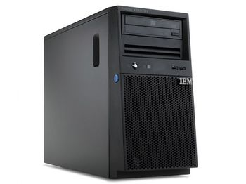 IBM System x3100 M4, Xeon 4C E3-1220v2 69W 3.1GHz/1600MHz/8MB, 1x4GB, O/Bay SS 3.5in SATA, SR C100, DVD-ROM, 350W p/s, Tower