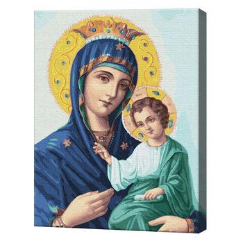 Икона Божией Матери, 40х50 см, картина по номерам Артукул: GX22600