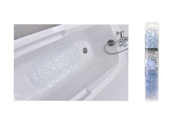 Коврик для ванны 36X69cm Bubbles прозрачный, PVC