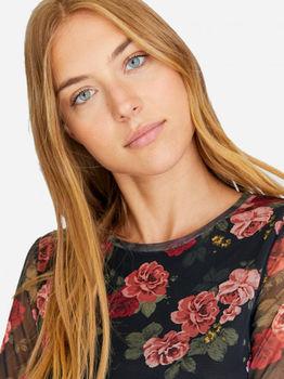 Платье Stradivarius Черный в цветочек 6389/655/148
