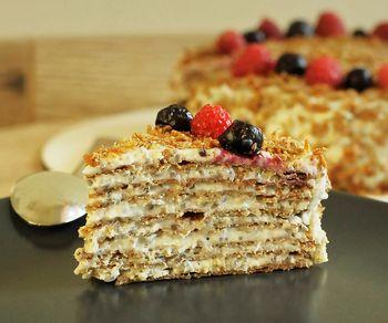 Торт Наполеон без глютена