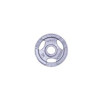Диск метал. c ухватами 1.25 кг d=50 мм inSPORTline 12701 (1175)
