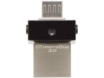 32GB USB3.1  Kingston DataTraveler microDuo 3.0 G2, Ultra-small, USB OTG Type C (On-The-Go), (Read 100 MByte/s, Write 15 MByte/s)
