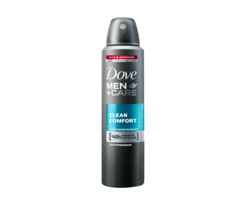 купить Антиперспирант Dove Men Care Clean Comfort, 150 мл в Кишинёве