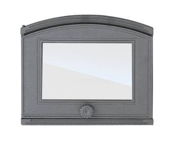 купить Дверца чугунная со стеклом DP1 в Кишинёве