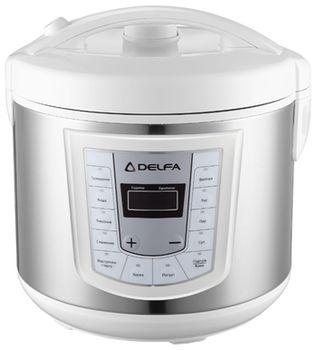 DELFA DMC-10, белый-серебристый