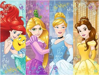 "18205 Trefl Puzzles-""30"" - Fairytale princesses / Disney Princess"
