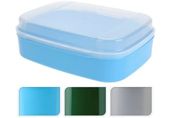 Емкость для хранения продуктов 25X19XH8cm, пластик