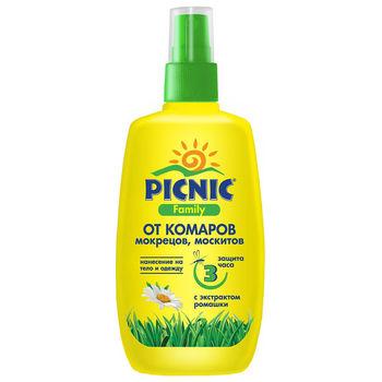 cumpără Picnic Family Spray repelent 3h 120ml în Chișinău