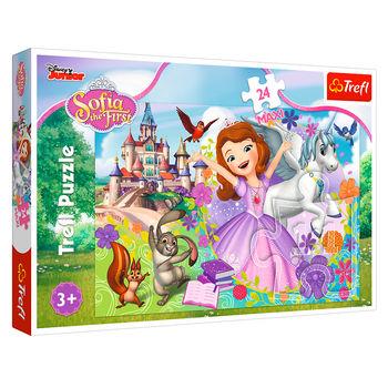 """Puzzle """"24Maxi"""" - """"Lumea colorată a Sofiei / Disney Sofia Prima"""", cod 41615"""