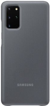 купить Чехол для моб.устройства Samsung Galaxy S20 Plus,EF-ZG985 Clear View Cover Gray в Кишинёве