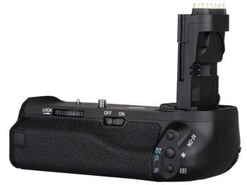 Battery Grip Canon BG-E8 (2 x LP-E8 or 6 x Size-AA), AF-ON button, W310g for EOS 700D,650D,600D,550D, Rebel T5i,T4i,T3i,T2i, Kiss X4