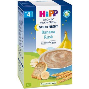 cumpără Hipp 2961 Hipp Terci Organic cu lapte Noapte Buna, pesmeți cu banană (de la 4 luni) 250g (TVA=0%) în Chișinău