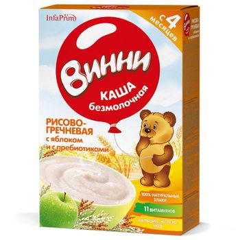 cumpără Vinni Terci fără lapte. orez, hrișcă, măr, probiotice 200g în Chișinău