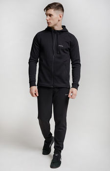 купить Куртка спортивная мужская, черная AIMO JB009 в Кишинёве